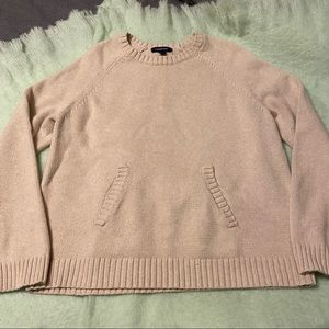 Lands End kangaroo pouch sweater